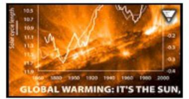 Solens aktivitet styr klimatf�r�ndringar