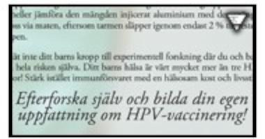 HPV-vaccineringen: Experter hade starka band till vaccinföretag skriver SVD.